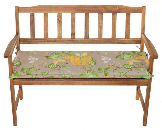 Poduszka na ŁAWKĘ ławę ogrodową EXTRA GRUBA  4393381424