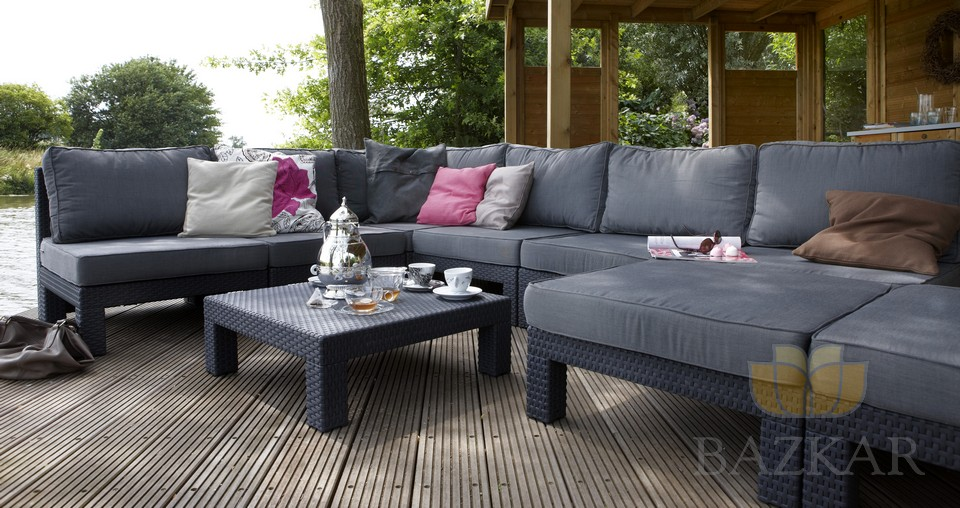 Meble Ogrodowe Zestaw Modena Lounge Set : Zestaw MEBLE OGRODOWE NEVADA LOUNGE RATTAN EFEKT  5933289476